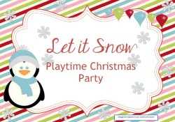 Playtime Christmas Party