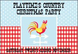 Playtime's Country Christmas Party