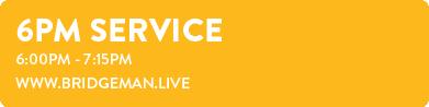 6pm Service