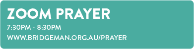 Sunday Prayer 7.30pm - 8.30pm